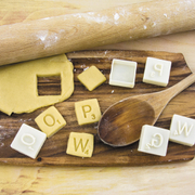 Cortadores de Galletas Scrabble