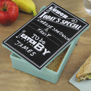 Chalkboard Lunch Tin