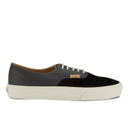 Vans Men's Authentic Decon Dx Suede/Leather Trainers - Black/Asphalt