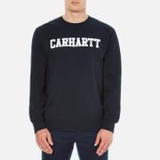 Carhartt Men's College Sweatshirt - Navy/White