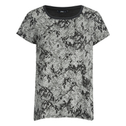ONLY Women's RimiMono Snake Loose Top - Gray Violet