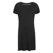 ONLY Women's Lidia Short Sleeve T-Shirt Dress - Black