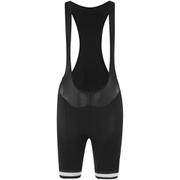 Alé Women's Plus Infinity Bib Shorts - Black/White