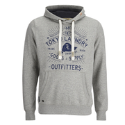 Tokyo Laundry Men's Liberty Falls Hoody - Light Grey Marl