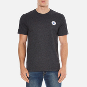 Converse Men's All Star Core Left Chest CP Crew T-Shirt - Black Heather