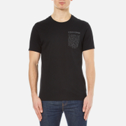 Converse Men's All Star Shield Reflective Rain Pocket T-Shirt - Black