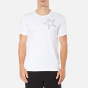 Converse Men's All Star Shield Reflective Tape Star CP T-Shirt - White