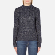 A.P.C. Women's Shelly Lurex Mix Jumper - Blue
