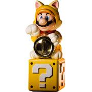 Cat Mario Figurine