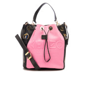 KENZO Women's Kombo Bucket Bag - Pink/Bordeaux