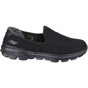 Skechers Men's GOwalk 3 Low Top Trainers - Black
