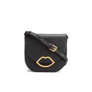 Lulu Guinness Women's Zoe Large Crossbody Bag - Black