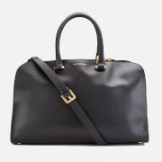 Lulu Guinness Women's Vivienne Medium Smooth Leather Tote Bag - Black