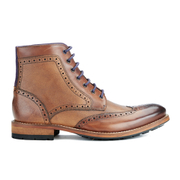 Ted Baker Men's Sealls3 Leather Brogue Lace Up Boots - Tan