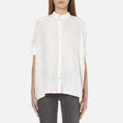 BOSS Orange Women's Clen Oversized Shirt - Natural