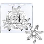 invisibobble Nano Hair Tie (πακέτο των 3) - Crystal Clear