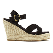 Superdry Women's Isabella Wedged Espadrilles - Black