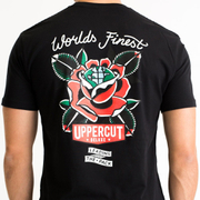 Uppercut Deluxe Men's World's Finest T-Shirt - Black