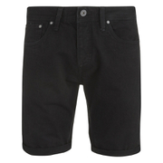 Jack & Jones Men's Rick Original Denim Shorts - Black