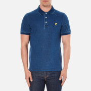 Lyle & Scott Vintage Men's Indigo Polo Shirt - Light Indigo