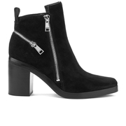 KENZO Women's Totem Heeled Ankle Boots - Black