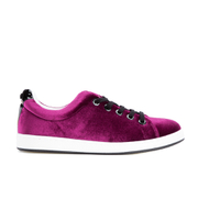 KENZO Women's K-Lace Low Top Trainers - Burgundy
