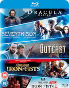 Blu-ray Starter Pack – mit Dracula Untold, Seventh Son, Outcast, The Man With The Iron Fists 1 & 2
