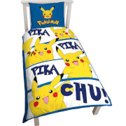 Pikachu Single Duvet Cover Set