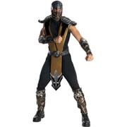 Mortal Kombat Men's Scorpion Fancy Dress
