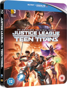 Justice League Vs Teen Titans - Zavvi Exclusive Limited Edition Steelbook (Limited to 1000 Copies)