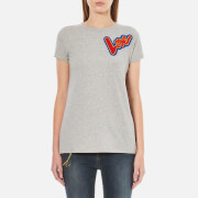 Love Moschino Women's Love T-Shirt - Grey