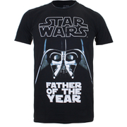 T-Shirt Star Wars Father of the Year - Noir