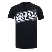 T-Shirt Star Wars Galaxy's Best Dad - Noir