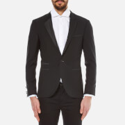 HUGO Men's Alkis Tuxedo Jacket - Black