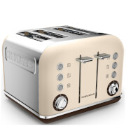 Morphy Richards 242101 Accents 4 Slice Premium Toaster - Sand
