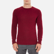YMC Men's Suedehead Brushed Jumper - Red