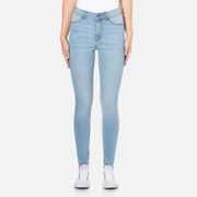 Cheap Monday Women's High Spray Jeans - Stone Bleach