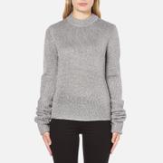 Cheap Monday Women's Honour Knitted Jumper - Silver