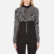 Cheap Monday Women's Vote Sweat Fence Sweatshirt - Black