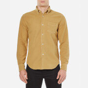 Our Legacy Men's 1950's Yolk Peeled Flannel Shirt - Yellow