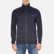 BOSS Hugo Boss Men's Zipped Track Jacket - Dark Blue