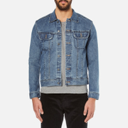 A.P.C. Men's Trucker Jacket - Indigo