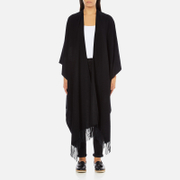 Gestuz Women's Malou Wool Poncho - Black