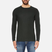 J.Lindeberg Men's Rico Merino Jumper - Green
