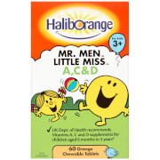 Haliborange Mr Men A, C & D Softies - 60 Tablets