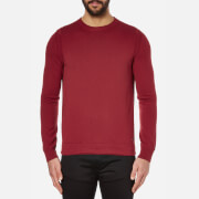 BOSS Orange Men's Albinon Crew Neck Knitted Jumper - Medium Red