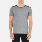 BOSS Orange Men's Trike Shoulder Detail T-Shirt - Grey