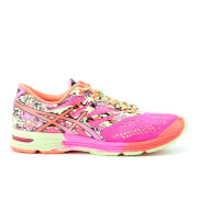 Asics Women's Gel Noosa Tri 10 Running Shoes - Coral/Paradise Green/Hot Pink