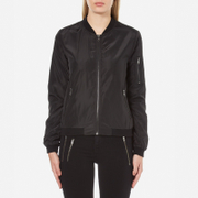 ONLY Women's New Linea Nylon Jacket - Black