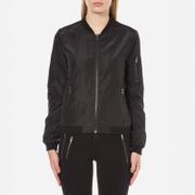 ONLY Women's New Linea Nylon Jacket - Black